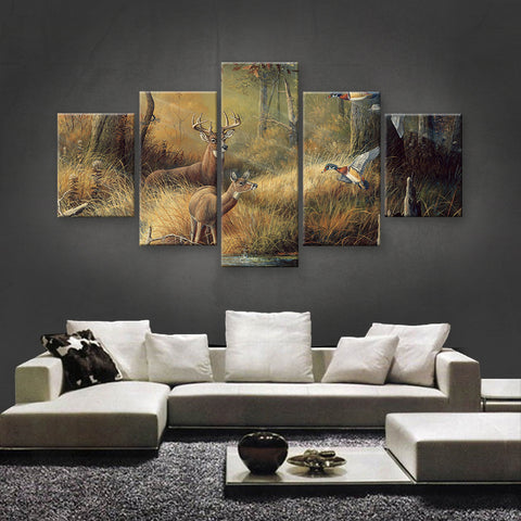 HD PRINTED LIMITED EDITION HUNTING CANVAS (HUNT130003)