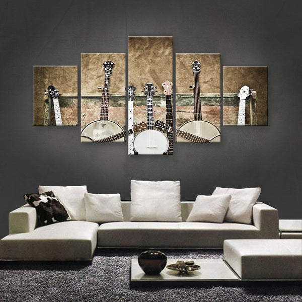 HD PRINTED LIMITED EDITION MUSICAL INSTRUMENTS CANVAS (MUC170002)