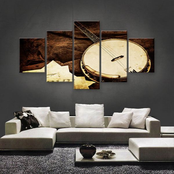 HD PRINTED LIMITED EDITION MUSICAL INSTRUMENTS CANVAS (MUC170003)