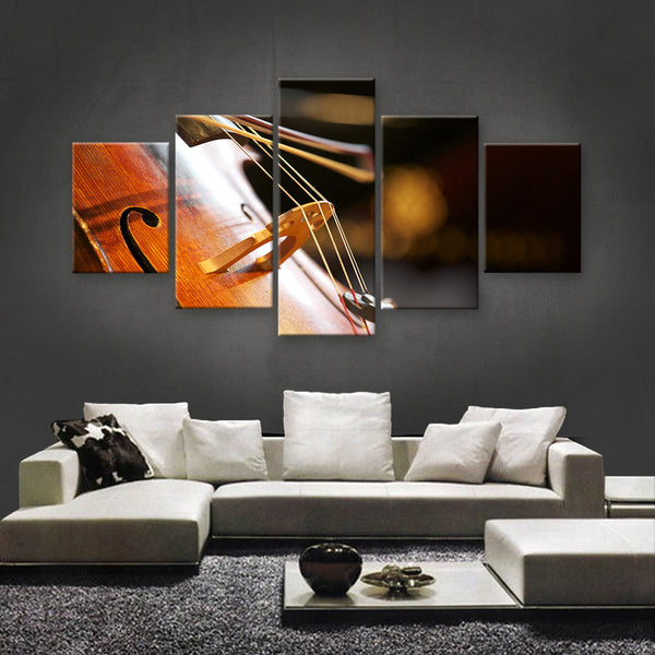 HD PRINTED LIMITED EDITION MUSICAL INSTRUMENTS CANVAS (MUC170004)