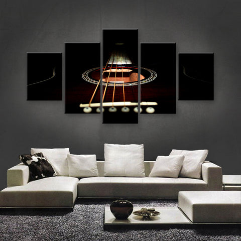 HD PRINTED LIMITED EDITION MUSICAL INSTRUMENTS CANVAS (MUC170007)