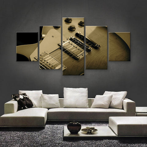 HD PRINTED LIMITED EDITION MUSICAL INSTRUMENTS CANVAS (MUC170011)