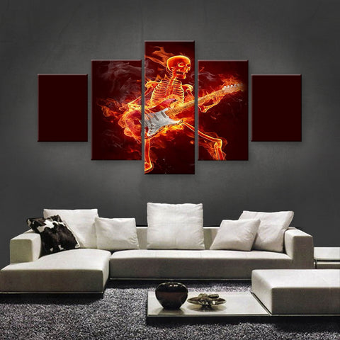 HD PRINTED LIMITED EDITION MUSICAL INSTRUMENTS CANVAS (MUC170013)
