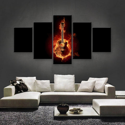 HD PRINTED LIMITED EDITION MUSICAL INSTRUMENTS CANVAS (MUC170015)