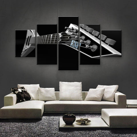 HD PRINTED LIMITED EDITION MUSICAL INSTRUMENTS CANVAS (MUC170018)