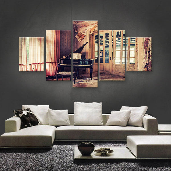 HD PRINTED LIMITED EDITION MUSICAL INSTRUMENTS CANVAS (MUC170020)