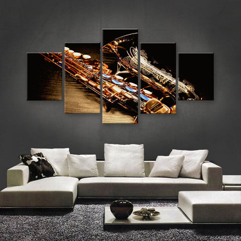 HD PRINTED LIMITED EDITION MUSICAL INSTRUMENTS CANVAS (MUC170022)