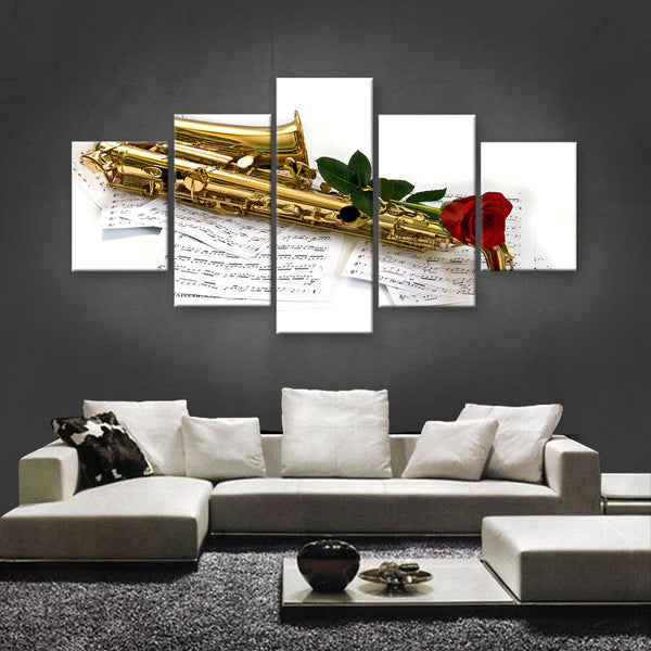 HD PRINTED LIMITED EDITION MUSICAL INSTRUMENTS CANVAS (MUC170023)