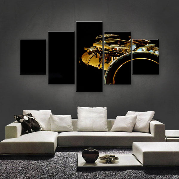 HD PRINTED LIMITED EDITION MUSICAL INSTRUMENTS CANVAS (MUC170026)