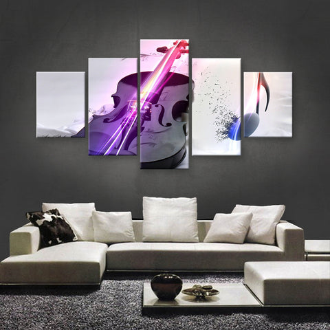 HD PRINTED LIMITED EDITION MUSICAL INSTRUMENTS CANVAS (MUC170029)
