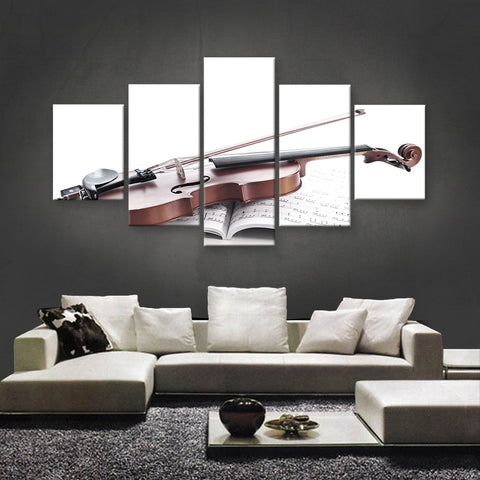 HD PRINTED LIMITED EDITION MUSICAL INSTRUMENTS CANVAS (MUC170033)