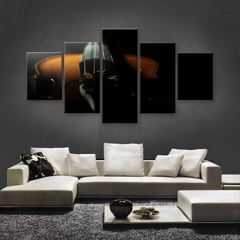 HD PRINTED LIMITED EDITION MUSICAL INSTRUMENTS CANVAS (MUC170034)