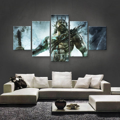 HD PRINTED LIMITED EDITION MYSTICAL GODS CANVAS (GODS190001)