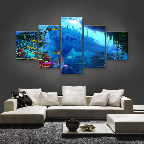 HD PRINTED LIMITED EDITION OCEAN CANVAS (OCN139001)