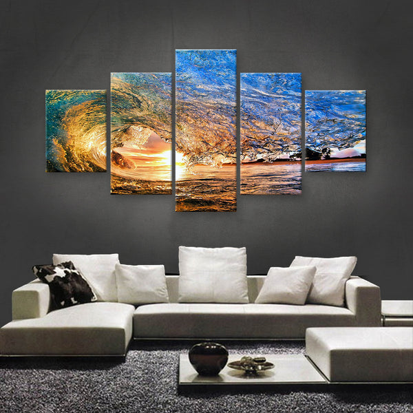 HD PRINTED LIMITED EDITION OCEAN CANVAS (OCN139007)