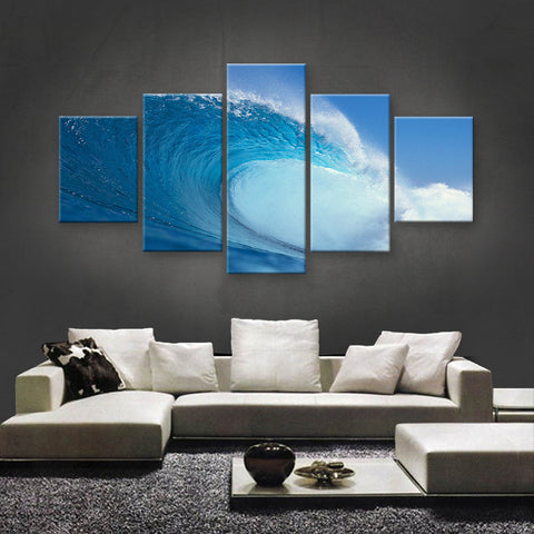 HD PRINTED LIMITED EDITION OCEAN CANVAS (OCN139009)
