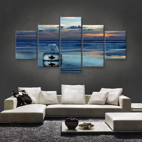 HD PRINTED LIMITED EDITION OCEAN CANVAS (OCN139012)