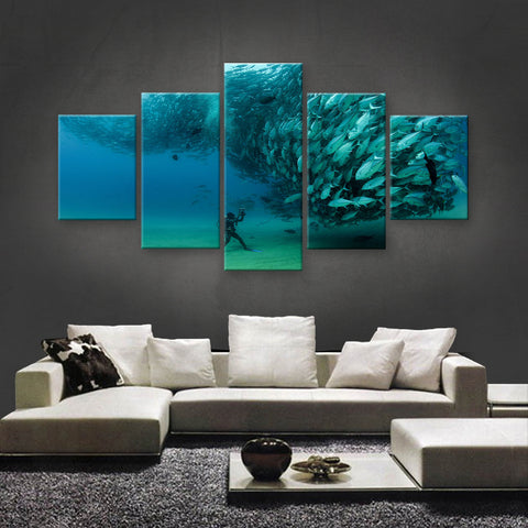 HD PRINTED LIMITED EDITION OCEAN CANVAS (OCN139013)