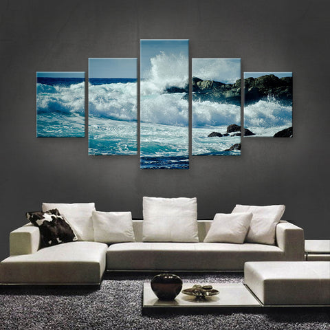 HD PRINTED LIMITED EDITION OCEAN CANVAS (OCN139015)