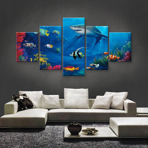 HD PRINTED LIMITED EDITION OCEAN CANVAS (OCN139016)