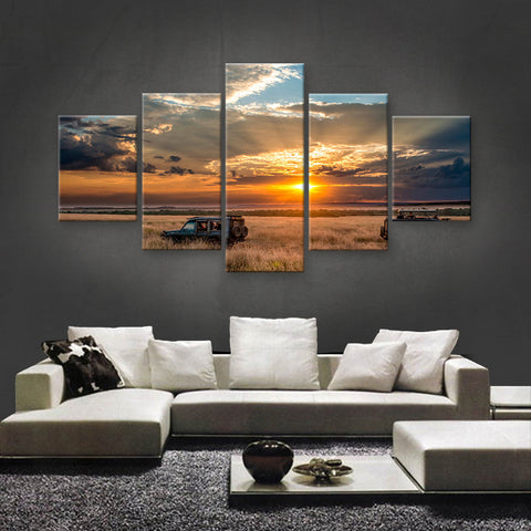 HD PRINTED LIMITED EDITION SAFARI CANVAS (SAF149002)