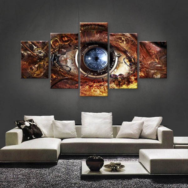 HD PRINTED LIMITED EDITION STEAMPUNK CANVAS (STP179004)