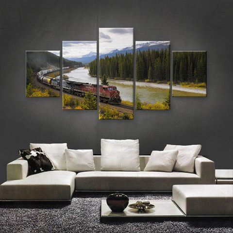 HD PRINTED LIMITED EDITION TRAINS CANVAS (TRN189001)