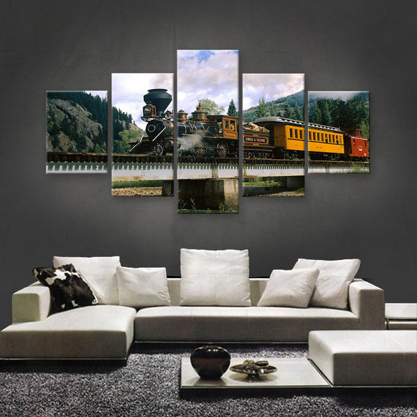 HD PRINTED LIMITED EDITION TRAINS CANVAS (TRN189002)