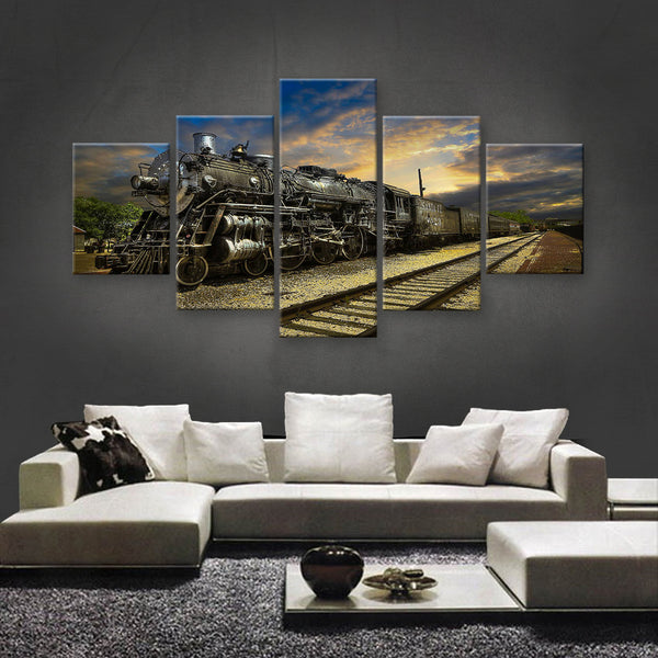 HD PRINTED LIMITED EDITION TRAINS CANVAS (TRN189003)