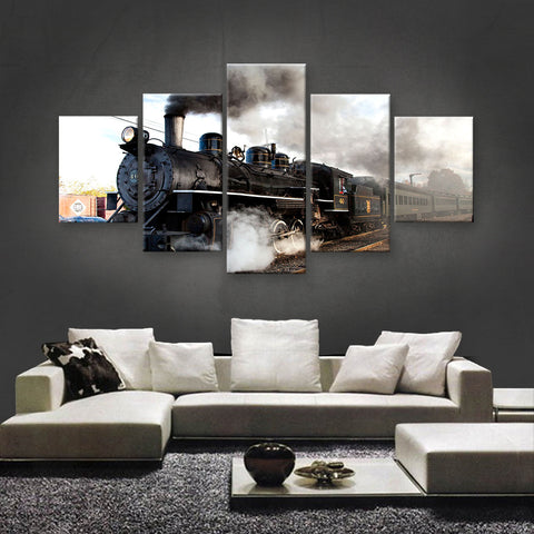 HD PRINTED LIMITED EDITION TRAINS CANVAS (TRN189004)