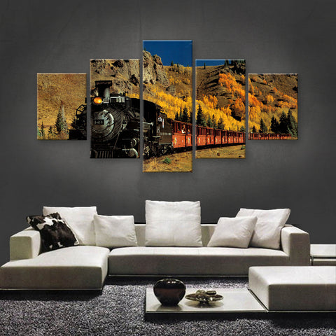 HD PRINTED LIMITED EDITION TRAINS CANVAS (TRN189005)