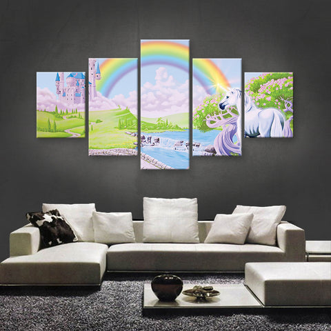 HD PRINTED LIMITED EDITION UNICORN CANVAS (UNI160005)