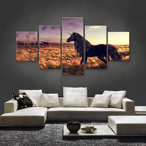 HD PRINTED LIMITED EDITION UNICORN CANVAS (UNI160007)