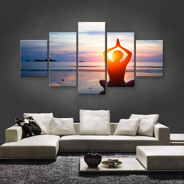 HD PRINTED LIMITED EDITION ZEN CANVAS (ZEN129004)