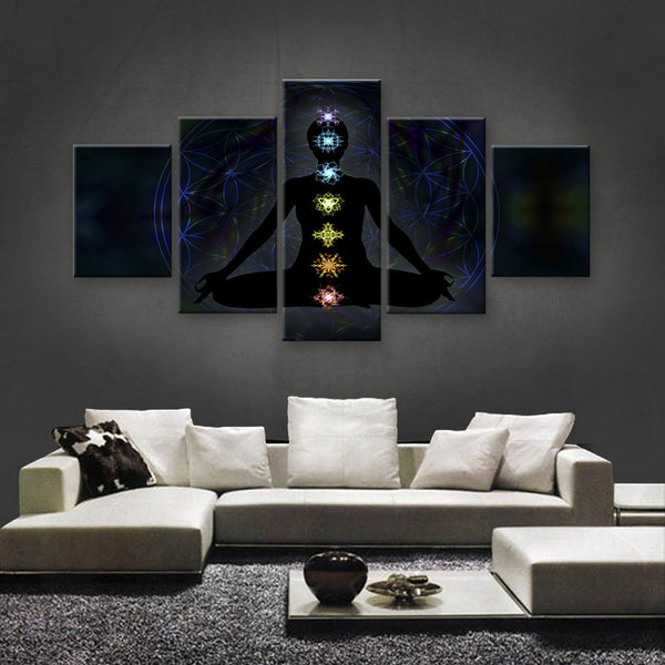 HD PRINTED LIMITED EDITION ZEN CANVAS (ZEN129006)