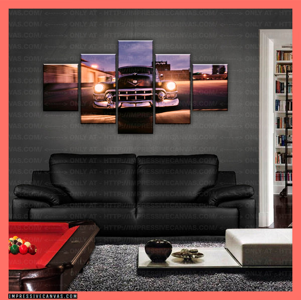 HD PRINTED LIMITED EDITION CAR CANVAS (HOT ROD) - (CARC160013)
