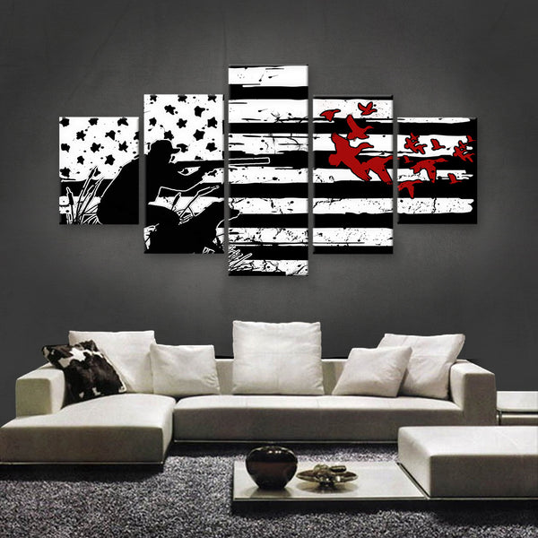 HD PRINTED LIMITED EDITION HUNTING CANVAS (HUNT130000)