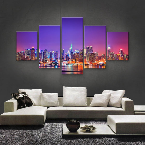 HD PRINTED LIMITED EDITION MANHATTAN, TIME SQUARE, NEW YORK CANVAS (SKC155012)