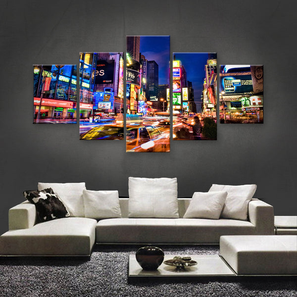 HD PRINTED LIMITED EDITION DOWNTOWN, NEW YORK CANVAS (SKC155013)