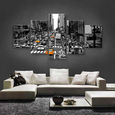 HD PRINTED LIMITED EDITION DOWNTOWN, NEW YORK CANVAS (SKC155014)