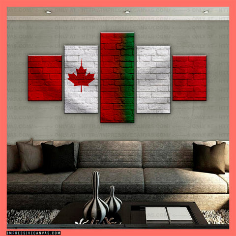 HD PRINTED LIMITED EDITION CANADIAN - ITALIAN (ITALY) CANVAS (CANIT210011)