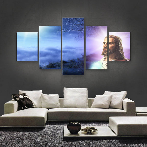HD PRINTED LIMITED EDITION JESUS CHRIST CANVAS (JCC155007)