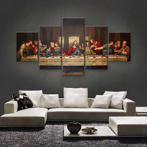 HD PRINTED LIMITED EDITION JESUS CHRIST CANVAS (JCC155006)