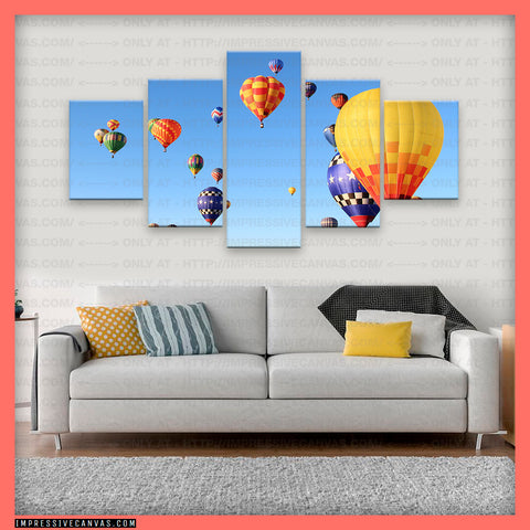 HD PRINTED LIMITED EDITION ALBUQUERQUE'S BALLOON FIESTA CANVAS (ALBQUE0815000)