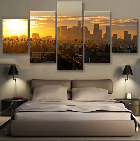 HD PRINTED LIMITED EDITION SKYLINE CANVAS (155002)