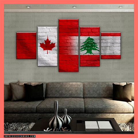 HD PRINTED LIMITED EDITION CANADIAN - LEBANESE (LEBANON) CANVAS (CANLB210014)