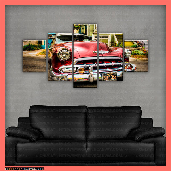 HD PRINTED LIMITED EDITION CAR CANVAS (LOWRIDER) - (CARC160018)