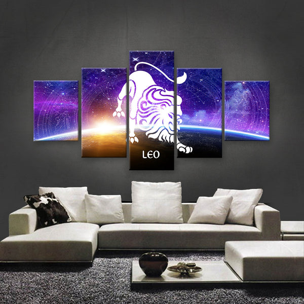 HD PRINTED LIMITED EDITION ZODIAC SIGN LEO CANVAS (ZSIGN310011)