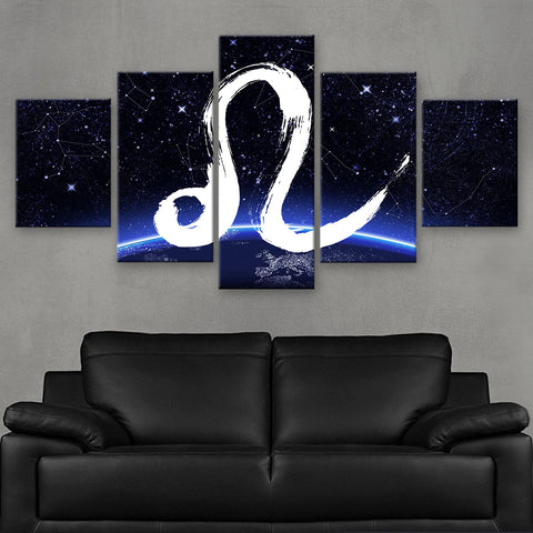 HD PRINTED LIMITED EDITION ZODIAC SIGN LEO CANVAS (ZSIGN310012)