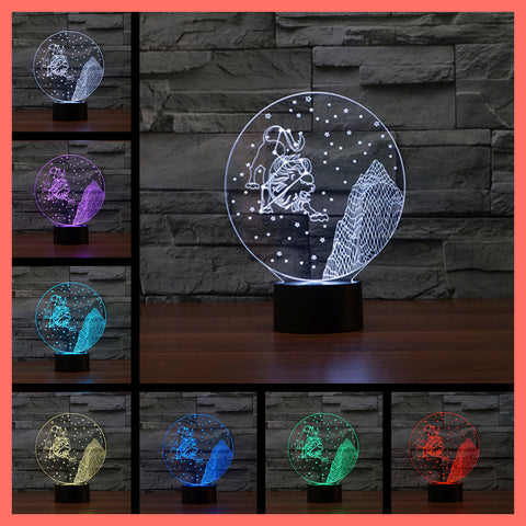 SMART TOUCH 3D LED LAMP ZODIAC LEO SIGN (ZLED610006)